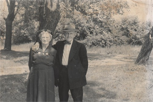 Orville C. and Bessie E. Shaver